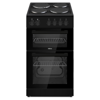 ALTIMO CETS501B 500mm Electric Twin Cavity Cooker - Black