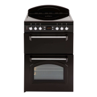 Leisure CLA60CEK Classic Electric Cooker with Ceramic Hob