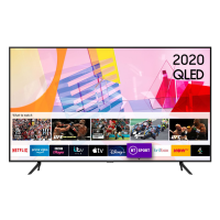 "Samsung QE65Q60TAUX 65"" HDR 4K QLED TV with Alexa, Google & Apple TV app"