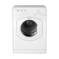 REFURBISHED Vented Tumble Dryer in White